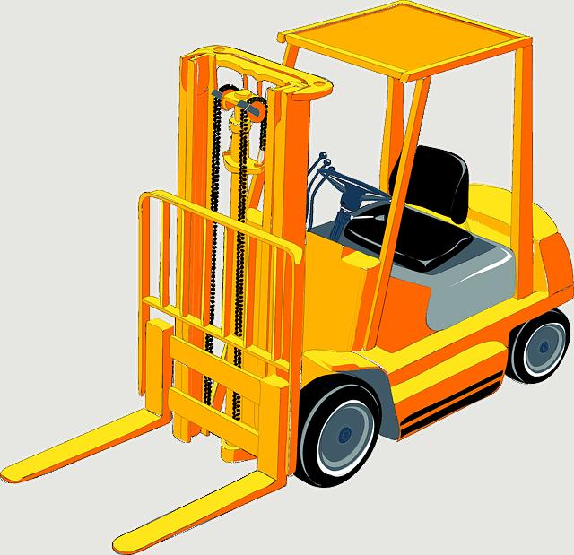 chariot élévateur semi-industriel